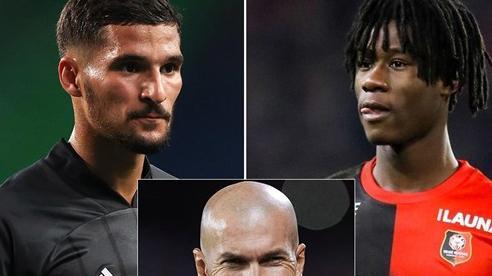Zidane yêu cầu Real mua gấp Camavinga và Aouar