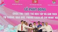 Phát động Cuộc thi  'Tuổi trẻ học tập và làm theo tư tưởng, đạo đức, phong cách Hồ  Chí  Minh' năm  2020