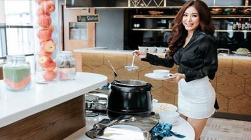 Hoa hậu Di Khả Hân khoe ảnh check-in tại khách sạn sang trọng Đà Lạt