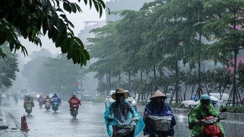 Dự báo thời tiết ngày14/9, các tỉnh Bắc Bộ trong ngày có lúc có mưa rào và giông