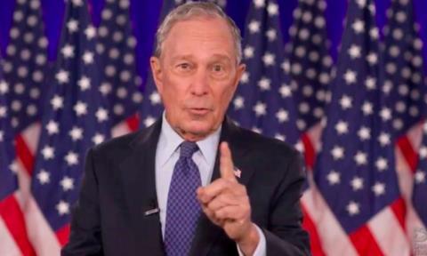 Tỷ phú Bloomberg chi 100 triệu USD giúp Biden tranh cử