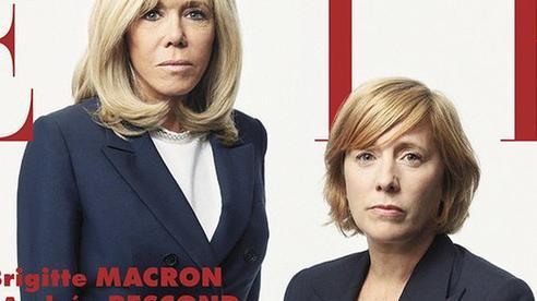 Xuất hiện trên bìa tạp chí, vẻ ngoài của vợ Tổng thống Pháp lại bị dân mạng soi