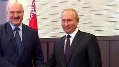 Nga rút quân khỏi biên giới với Belarus