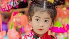 Cô bé giống Tiểu Yến Tử 'gây sốt' với bộ ảnh Trung thu rực rỡ