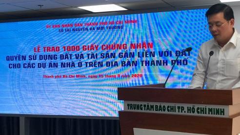 TP Hồ Chí Minh: Trao 1.000 sổ hồng cho 15 chủ đầu tư