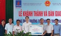 PV GAS tài trợ 4 tỷ đồng xây dựng Trường Tiểu học Trực Khang, tỉnh Nam Định