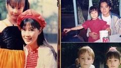 Loạt ảnh Diễm My 9x thời bé đóng phim chung với nhiều diễn viên nổi tiếng