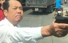 Giám đốc công ty bảo vệ dọa 'bắn vỡ sọ' tài xế bị khởi tố