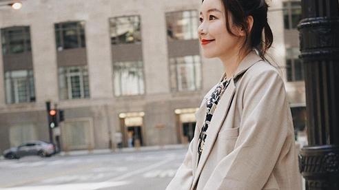 Tham khảo 12 set đồ mùa thu của các quý cô châu Á