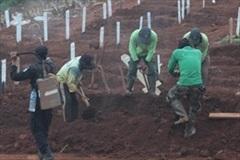 Indonesia: Phạt người không đeo khẩu trang đào mộ cho nạn nhân COVID-19