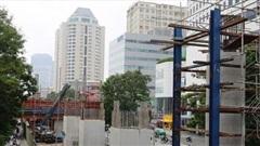 Điều chỉnh thiết kế đường sắt Nhổn - ga Hà Nội vì vướng mặt bằng