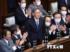 Ông Suga nhậm chức Thủ tướng Nhật, nhiều nước gửi thư chúc mừng
