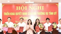 Đà Nẵng, Bạc Liêu bổ nhiệm nhiều nhân sự lãnh đạo