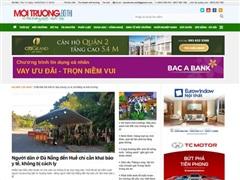 Xử phạt vi phạm hành chính Tạp chí Môi trường đô thị Việt Nam