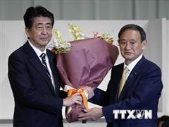 Nhật Bản: Cựu Thủ tướng Abe khẳng định ủng hộ chính phủ mới