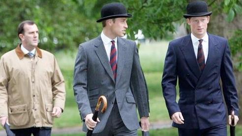 Gu thời trang sành điệu ít ai để ý của Hoàng tử William và Harry