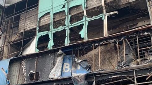 Bắt đối tượng châm lửa đốt chi nhánh ngân hàng Eximbank