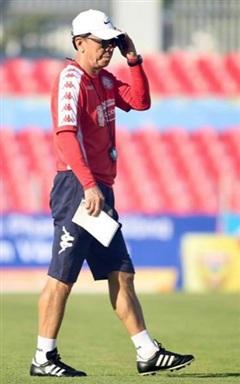 HLV Chung Hae-seong: Buồn vì thua 1-5 trước Hà Nội FC