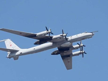 Nga điều máy bay chống ngầm Tu-142 giám sát trên Biển Đen
