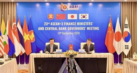 Lãnh đạo AFMGM+3 nhất trí tăng cường hợp tác tài chính để hỗ trợ phục hồi kinh tế