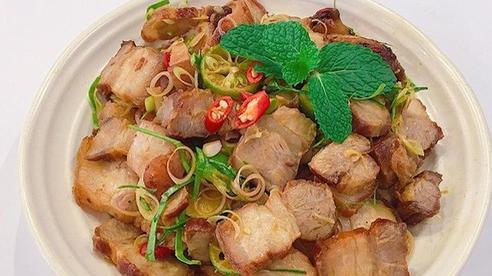 Thịt ba chỉ kho mãi cũng nhàm, cho thứ quả quen này vào thành món ăn lạ miệng, ngon xuất sắc