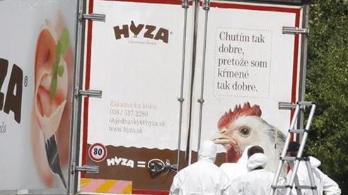 Phát hiện hàng chục người di cư trong xe tải đông lạnh