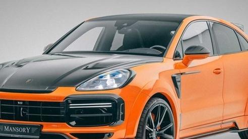 Cayenne Coupe và Porsche Cayenne được trang bị gói độ Mansory