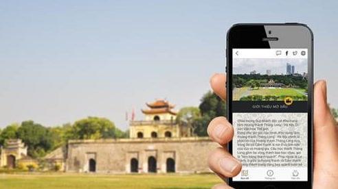 Du lịch Hoàng thành Thăng Long bằng công nghệ