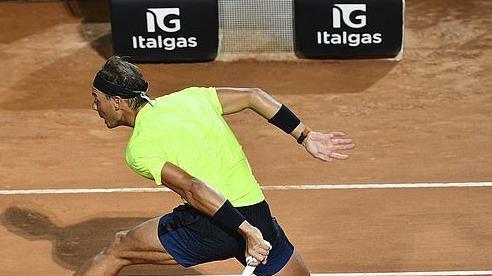 Nadal 'tốc hành' vào tứ kết Rome Masters