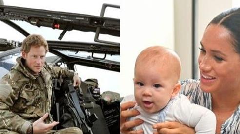 Hoàng tử Harry gia nhập câu lạc bộ trực thăng để đưa Meghan cùng con trai đi du ngoạn
