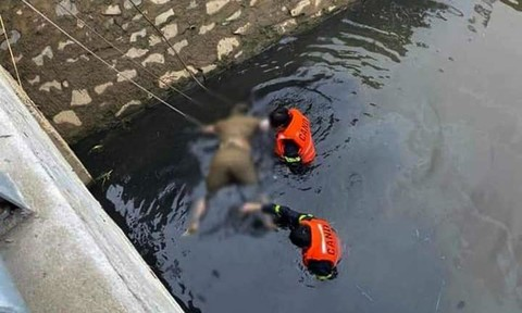 Cái chết bất thường của một phụ nữ dưới kênh nước