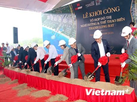 Khởi công Tổ hợp nghỉ dưỡng và thể thao biển cao cấp tại Bình Thuận