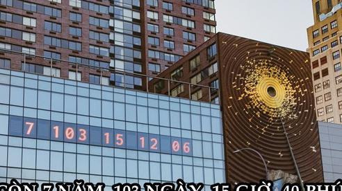 Hiển thị giờ suốt 20 năm, một chiếc đồng hồ bỗng đếm ngược thời gian 'còn lại' của Trái Đất: Chuyện gì đang xảy ra?