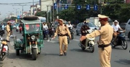 Thanh Hóa: Tước quân tịch 1 cán bộ Phòng Cảnh sát giao thông