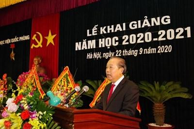 Học viện Quốc phòng khai giảng năm học 2020-2021