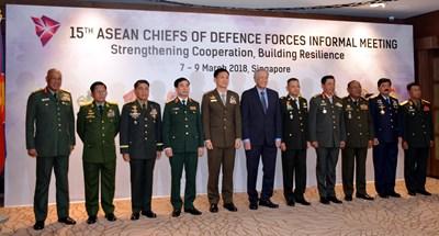 Thách thức là cơ hội để quân đội các nước ASEAN tăng cường sức mạnh gắn kết