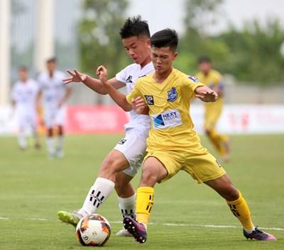 U17 Sông Lam Nghệ An không tạo nên bất ngờ trước đội bóng mạnh U17 Nutifood