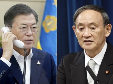 Lãnh đạo Nhật-Hàn điện đàm, xác nhận tầm quan trọng của hợp tác