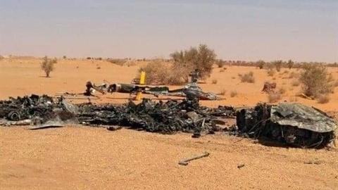 Ai bắn trực thăng chở lính đánh thuê Nga tại Libya?