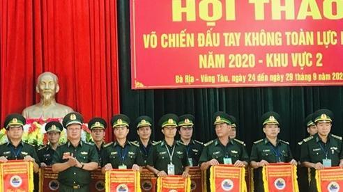 Trên 500 vận động viên, huấn luyện viên tham gia Hội thao Võ chiến đấu tay không toàn lực lượng BĐBP