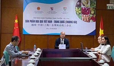 Tăng cường xuất khẩu hoa quả thế mạnh vào thị trường Thượng Hải, Trung Quốc