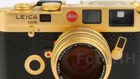Ngắm Leica M6 bản mạ vàng siêu hiếm, giá lên tới gần 30 ngàn USD của hoàng gia Brunei