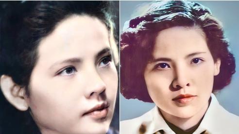 Bức ảnh phục chế tuyệt sắc giai nhân trường Dược Hà Nội 1955 gây bão, chuẩn nét đẹp con gái Hà thành xưa