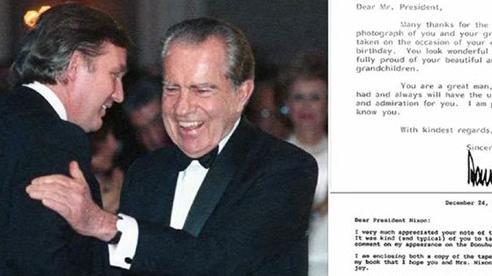 Những lá thư bất ngờ hé lộ mối quan hệ đặc biệt Trump-Nixon