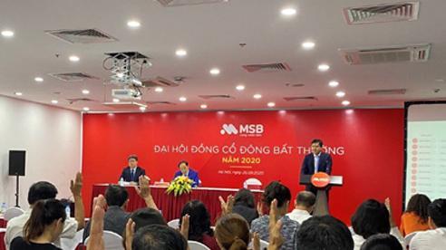 MSB tổ chức Đại hội cổ đông bất thường