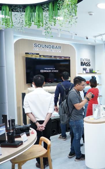 Ghé thăm Sony Center mới tinh vừa được Sony mở cửa tại Việt Nam