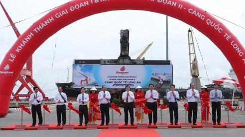 Đồng Tâm Group khánh thành giai đoạn 1 và khởi công giai đoạn 2 Cảng quốc tế Long An