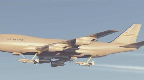 Mỹ muốn hoán cải Boeing-747 thành 'mẫu hạm trên không'