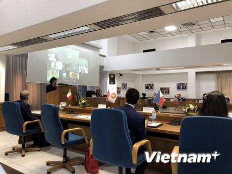 Triển khai Kế hoạch hành động quan hệ đối tác phát triển Italy-ASEAN