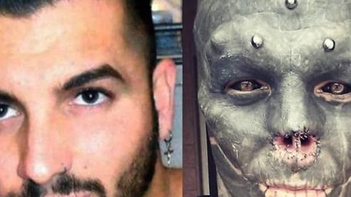 Chàng trai từ chối đẹp tự nhiên, quyết tâm cắt mũi, xẻ lưỡi thành 'người ngoài hành tinh'